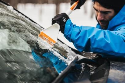 Скребок для льда и щетки Fiskars SnowXpert 143062 (1019352), фото 6