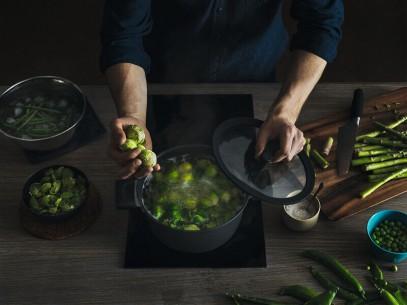 Сковорода для блинов Fiskars Hard Face 22 см 1052229, фото 4