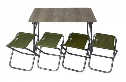 Наборы туристической складной мебели Комплект мебели раскладной Novator SET-6 (100х60) 201962, фото 1