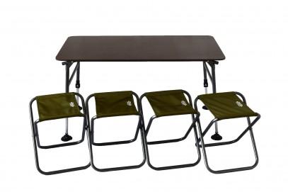 Комплект мебели складной Novator SET-3 (120х65) 201937, фото 2
