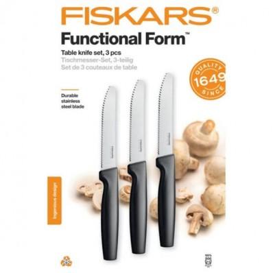 Набор столовых ножей Fiskars Functional Form ™ 3 шт 1057562, фото 1
