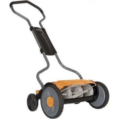 Механическая газонокосилка Fiskars StaySharp™ Plus Reel Mower 113872 (1015649), фото 1