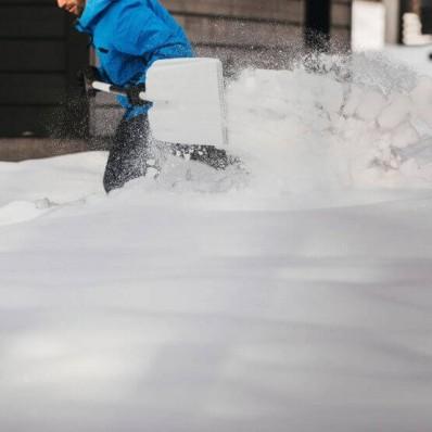 Лопата для уборки снега Fiskars White Snow 1052521, фото 4