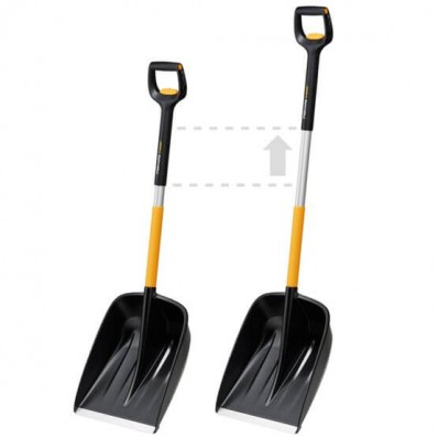 Лопата для уборки снега телескопическая Fiskars X-series™ 1057188, фото 2